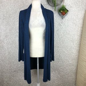 89th & Madison Burnout Cardigan Duster | M